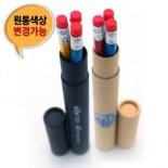 육각지우개연필 3본입세트